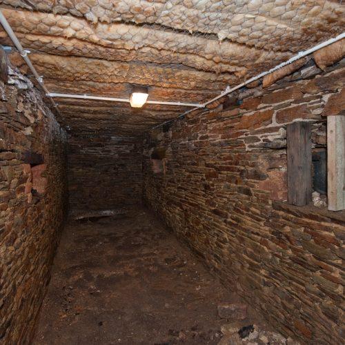 The Sawpit beneath the floor